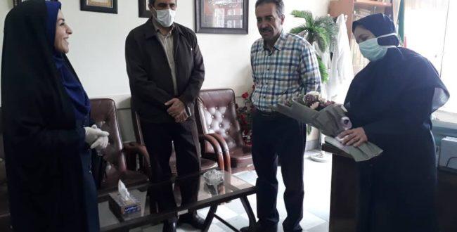 اهدای کتاب به پرستاران و پزشکان بیمارستان طالقانی ارومیه