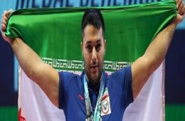 وزنهبردار ارومیهای مدال برنز رقابت گزینشی المپیک را بر گردن آویخت