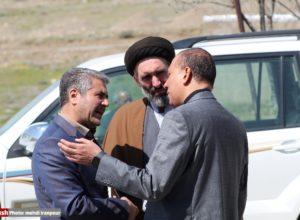 مراسم یادبود مرحوم آقایی نماینده فقید سلماس/ حاشیه ها در قاب عکس