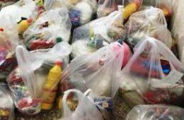 توزیع ۱۵۰۰بسته غذایی بین نیازمندان ماکو و پلدشت