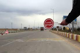 ورود و خروج به ۲۵ استان قرمز ممنوع شد