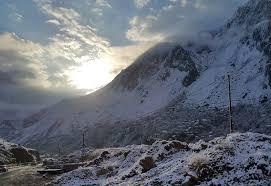بارش برف و باران در ارتفاعات آذربایجان غربی