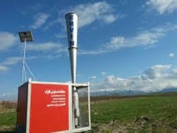 تجهیز ۱۰۰هکتار از اراضی کشاورزی چالدران به سامانه ضد تگرگ