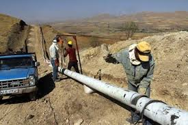 ضریب نفوذ گاز در روستاهای پلدشت به ۶۴ درصد رسید