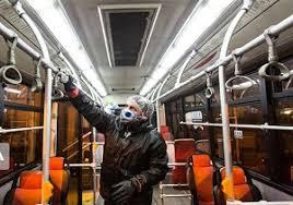 جهت جلوگیری از شیوع کرونا ۳۴۲  اتوبوس شهری در ارومیه ضدعفونی می شوند