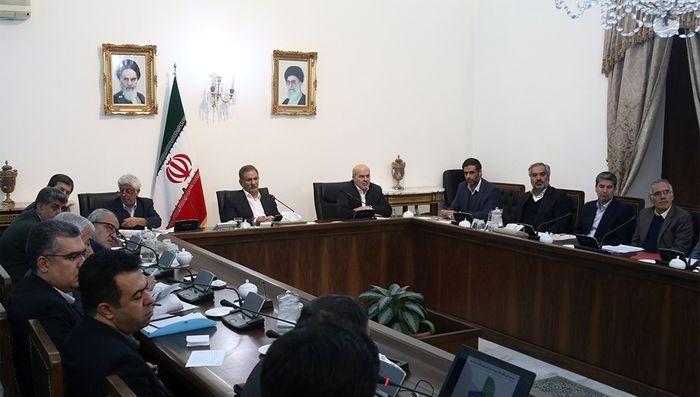 سیزدهمین جلسه کارگروه ملی نجات دریاچه ارومیه به ریاست معاون اول رییسجمهور برگزار شد