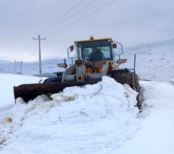 بازگشایی نیمی از راههای روستایی مسدود در آذربایجان غربی