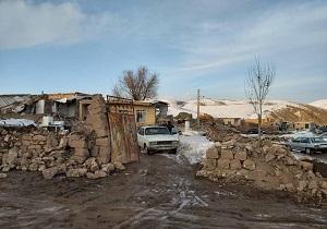 بازدید فرمانده سپاه شهدای استان از مناطق زلزله زده قطور