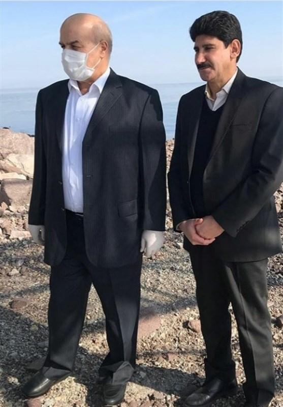 بازدید معاون رئیسجمهور از دریاچه ارومیه