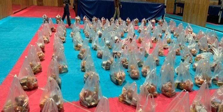 ۵۵۰ بسته معیشتی توسط ورزشکاران بسیجی برای نیازمندان تهیه شد