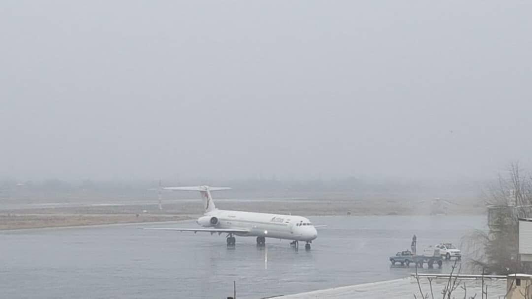 مسافران فرودگاه ارومیه پیش از مراجعه با اطلاعات پرواز تماس بگیرند