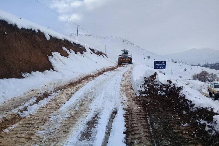 راه دسترسی ۱۰۲ روستا در آذربایجانغربی مسدود شد