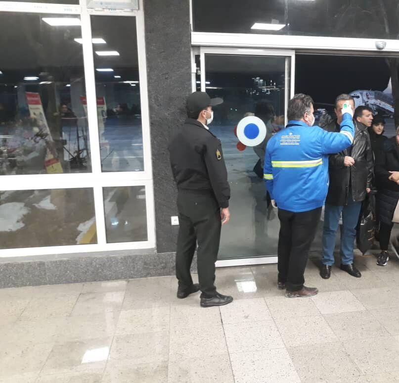 تمهیدات فرودگاه ارومیه برای مقابله با ویروس کرونا