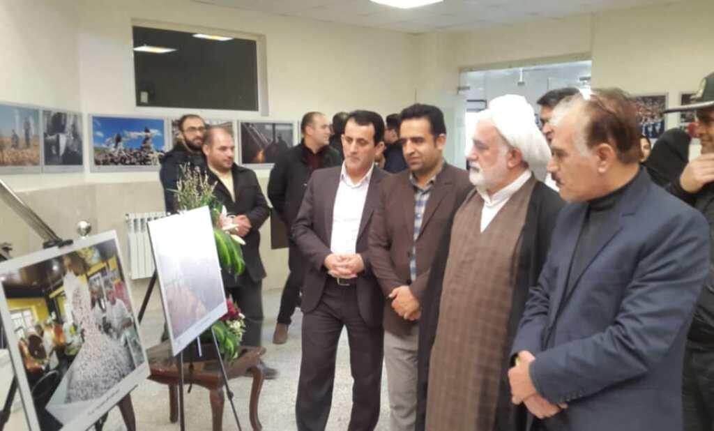 گشایش دومین نمایشگاه منطقهای عکس خبری در ارومیه