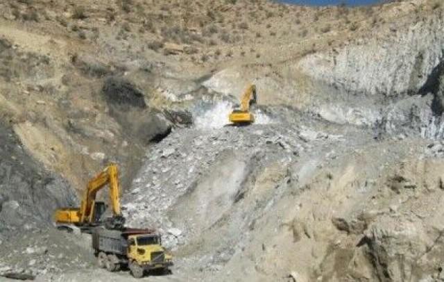 ۴۷۱ معدن دارای پروانه بهره برداری در آذربایجان غربی فعالیت می کنند