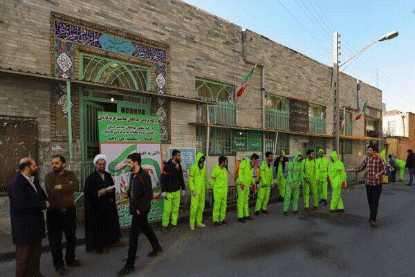 ۱۰۰ روحانی در قالب گروههای جهادی برای مقابله با کرونا داوطلب شدند