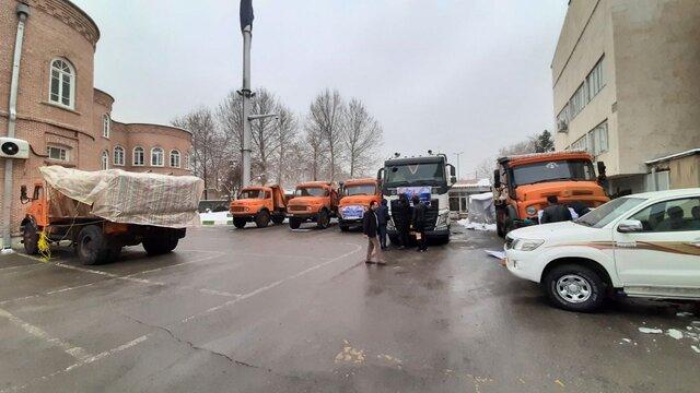 ارسال اولین محموله کمکهای مردمی از ارومیه به سیل زدگان سیستان و بلوچستان