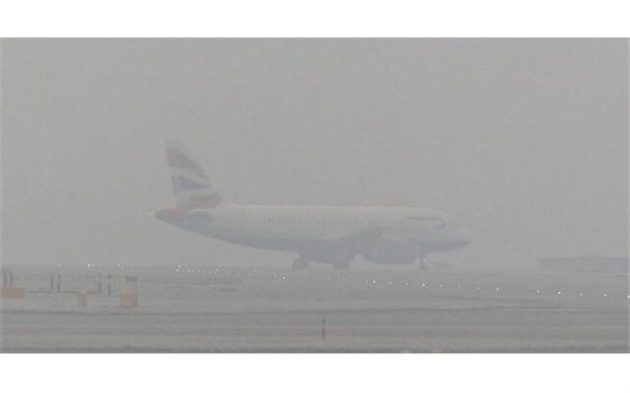 کاهش دید افقی در فرودگاه ارومیه