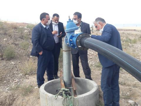 بررسی مسائل و مشکلات آبرسانی به شهرستان پلدشت