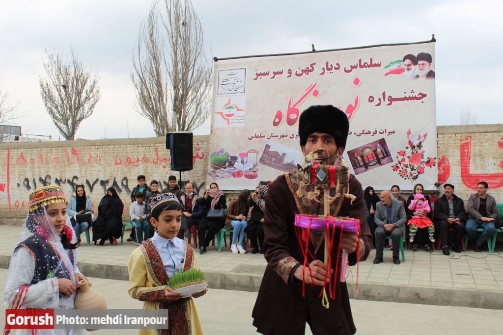 جشنواره نوروزگاه و آیین تکم گردانی در روستای هفتوان سلماس