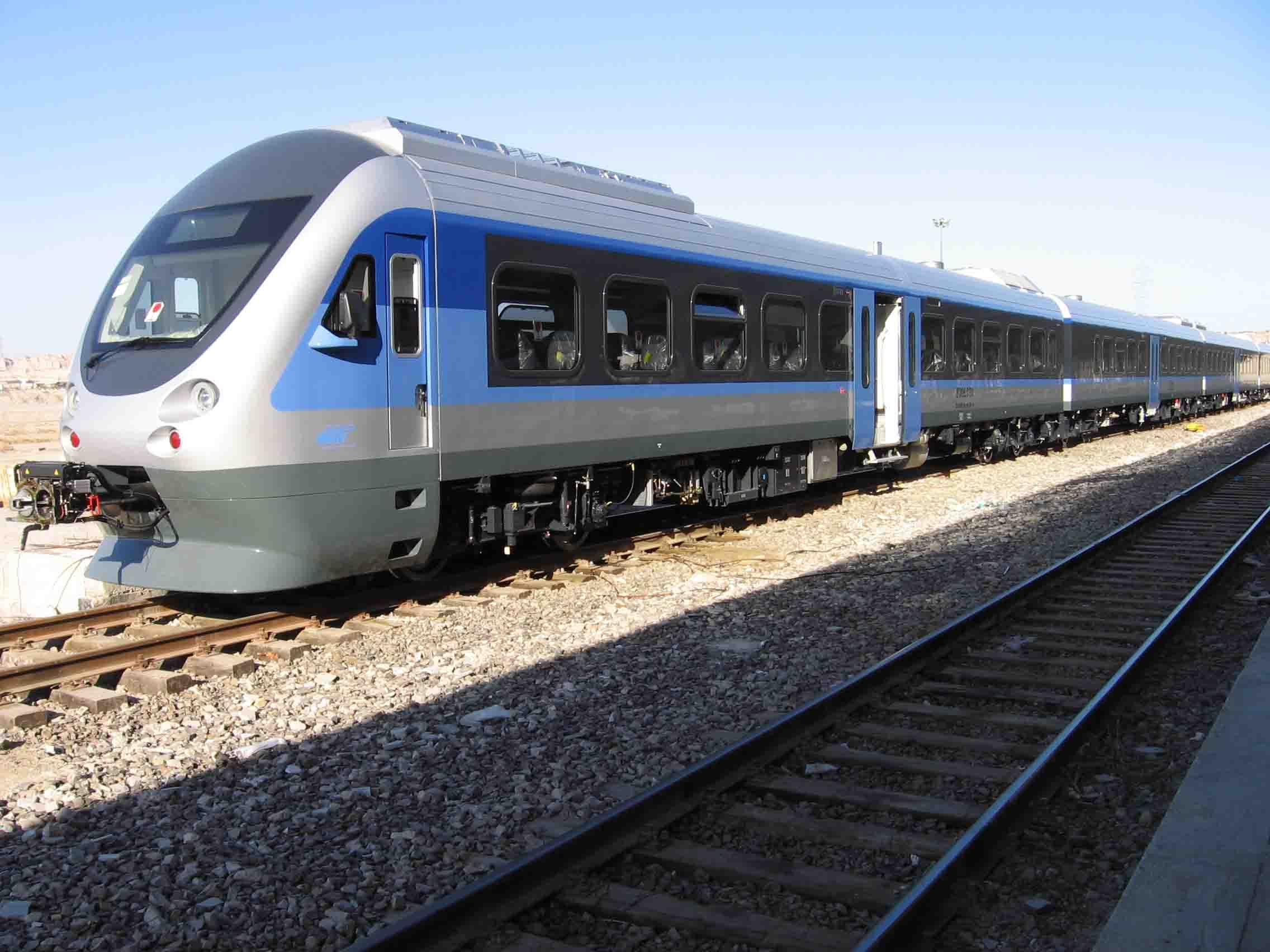 زمان سفر ریلی از ایستگاه راه آهن آذربایجان غربی دوساعت کاهش یافت