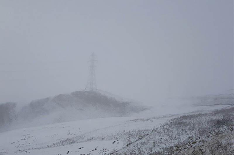 ۴ محور ارتباطی آذربایجان غربی به دلیل کولاک مسدود است