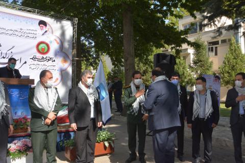 برگزاری یادواره ۳۱۲ شهید کارمند استان آذربایجان غربی