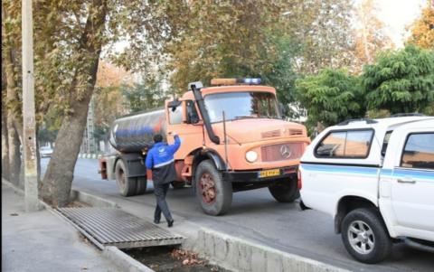 مشارکت شرکت آب و فاضلاب آذربایجان غربی در کارزار مبارزه با کرونا