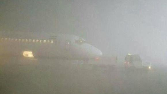 پروازهای فرودگاه ارومیه تا بهبود دید افقی راکد است