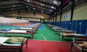 بیمارستان صحرایی سپاه در شرایط بحرانی قابلیت ارتقا به ۵۰۰ تختخواب را دارد