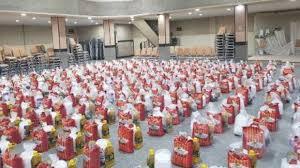 بیش از ۲ هزار بسته معیشتی در خوی توزیع شد