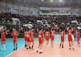 تیم والیبال شهرداری ارومیه در مقابل آذرباتری به برتری رسید