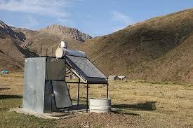 ۱۴دستگاه حمام خورشیدی برای عشایر استان توزیع و نصب شد