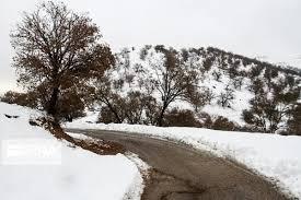 بارش اولین برف زمستانی در آذربایجان غربی
